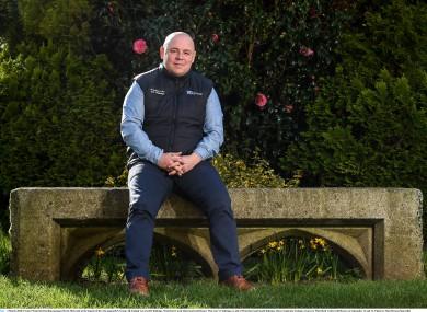 Derek McGrath in Waterford Castle this week.