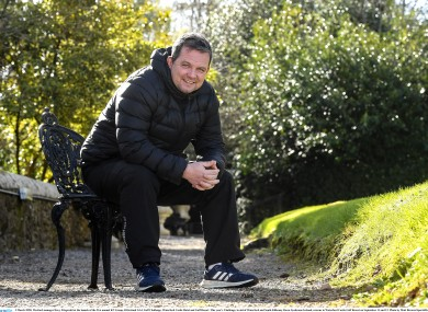 Wexford manager Davy Fitzgerald at the launch of the 21st annual KN Group All-Ireland GAA Golf Challenge.