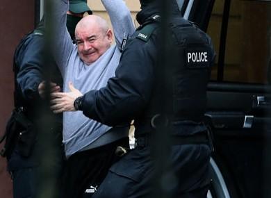 Murder accused Paul McIntyre.