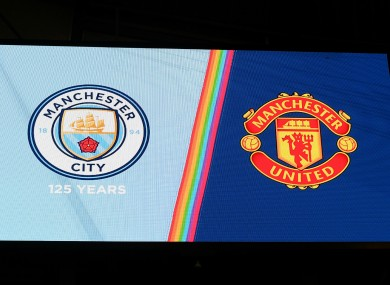 Manchester City hosted Manchester United in December.