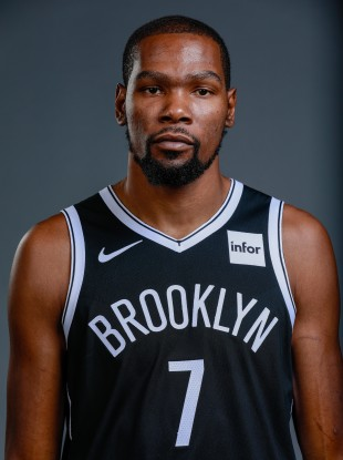 Brooklyn Nets forward Kevin Durant (file pic).