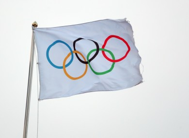 File photo of the Olympic logo.