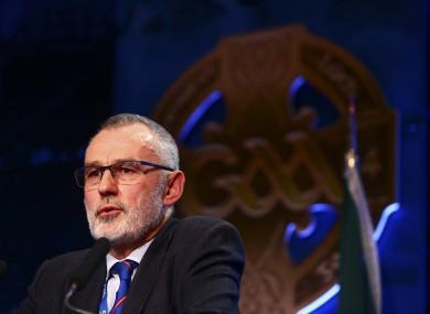 GAA president-elect Larry McCarthy.