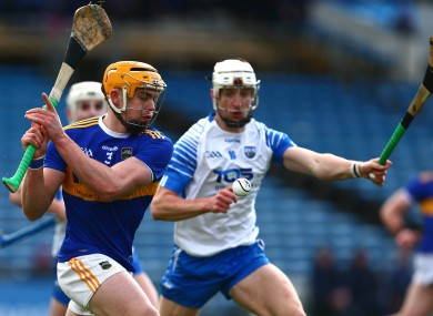 Tipperary's Ronan Maher with Waterford's Jack Fagan