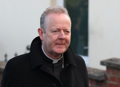 File photo. Archbishop Eamon Martin