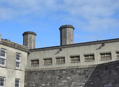 Mountjoy Prison in Dublin.