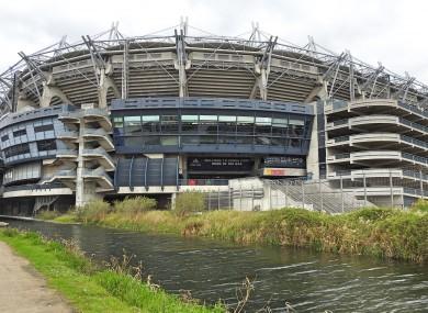 File photo. Croke Park in Dublin.