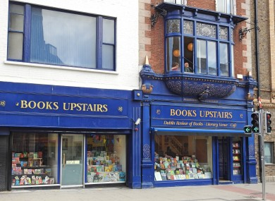 Books Upstairs in Dublin is delivering 'self-isolation book bundles'.