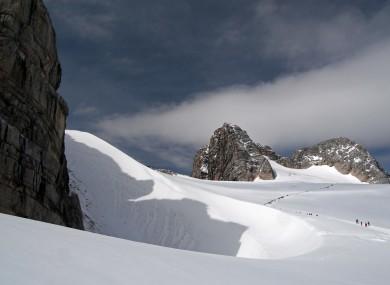 Dachstein in the Austrian Alps. (File photo)