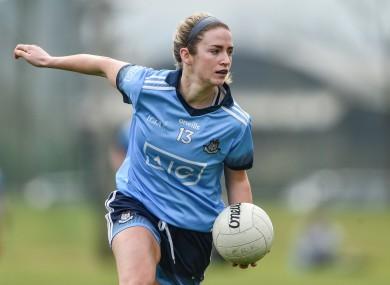 Siobhán Killeen in action for Dublin.