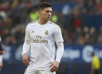 He has failed to live up to the price tag since joining Real Madrid.
