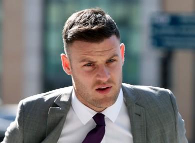 File photo. Former Celtic footballer Anthony Stokes.