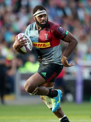 Semi Kunatani pictured in action for Harlequins.