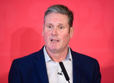 Former party Brexit spokesperson Keir Starmer takes the top job.