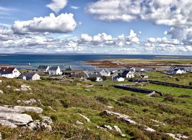 Inis Mór which usually sees an influx of students on day trips during their Gaeltacht courses.
