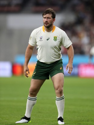South Africa's Francois Steyn during the 2019 Rugby World Cup (file pic).
