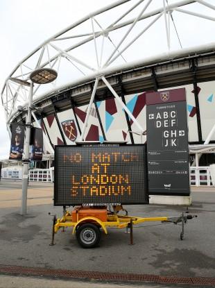 West Ham's London Stadium.