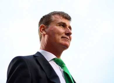Stephen Kenny's tenure as Ireland manager began yesterday.