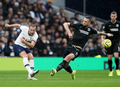 Juventus want Harry Kane (left).