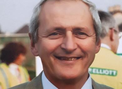 Offaly legend Paddy Fenning.