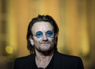 Bono turns 60 on Sunday.