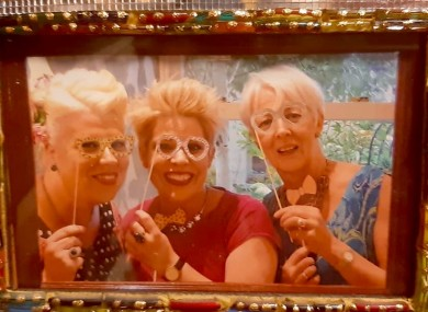 Barbara, Dorothy and their mum Teresa.