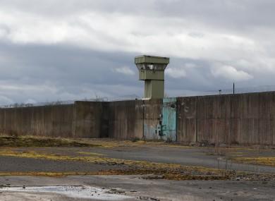 Former H Block Maze prison at Long Kesh near Lisburn, Northern Ireland.