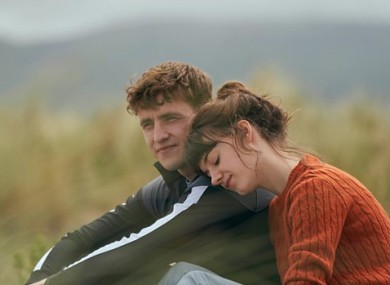 Marianne and Connell in the TV adaptation of Normal People.