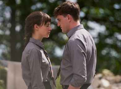 Main characters Marianne and Connell in the TV adaptation of Normal People.