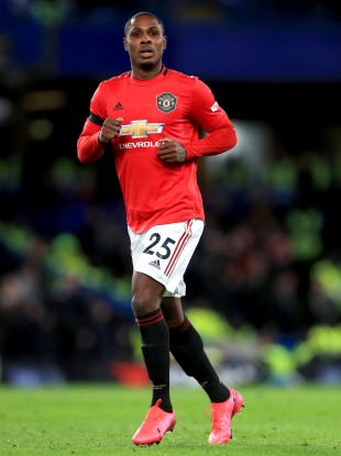 Manchester United's Odion Ighalo (file pic).
