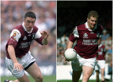 Alan Kerins and Michael Donnellan won All-Ireland medals together with Galway.