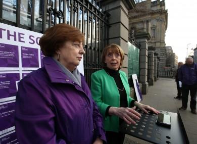 Leaders Catherine Murphy and Róisín Shortall