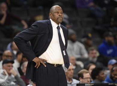 Patrick Ewing: head coach at Georgetown University.