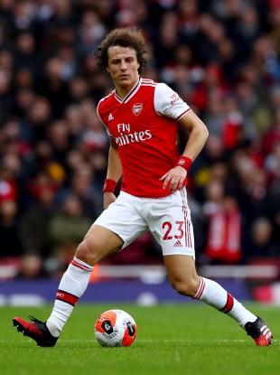 Staying put: David Luiz (file pic).