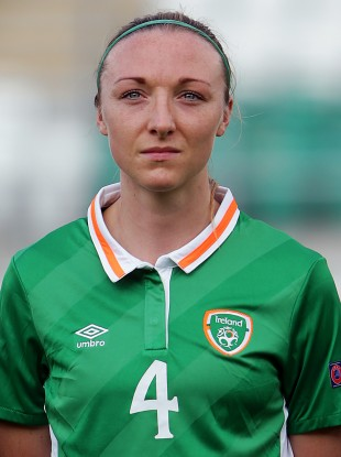 Louise Quinn has been a regular at the heart of the Irish defence in recent years.