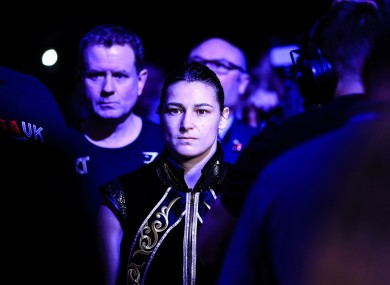 Katie Taylor: scheduled to fight on 22 August.