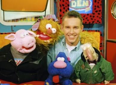 The Den's full crew in 1996.
