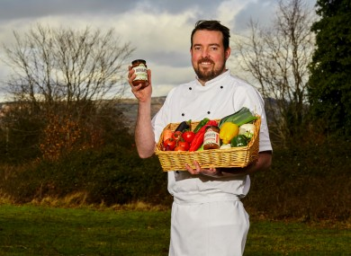Rohan O'Duill, founder of Rohan's Sauces.
