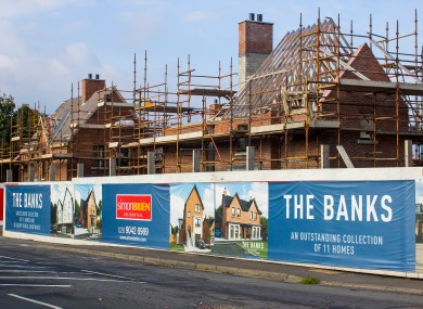 Demand for new houses may be less severe than expected, the study found.