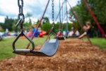 Playgrounds will re-open on Monday.