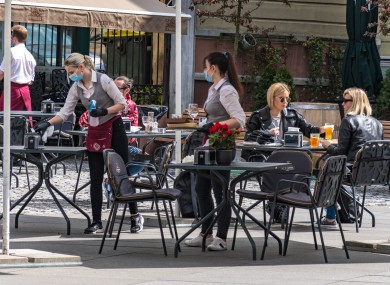 Socialising in cafes, pubs and restaurants will carry plenty more risks than before.