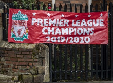 The Reds are on the verge of clinching the title.