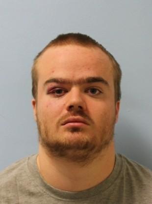 A police photo of Jonty Bravery.
