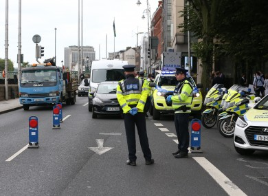 Gardaí and the RSA launched their bank holiday campaign this morning.