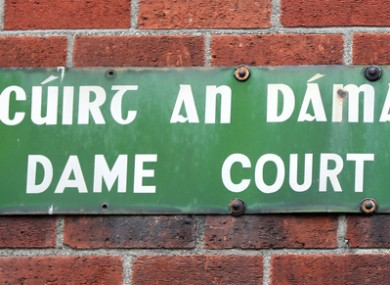 Dame Lane and the wider area in Dublin appeared busy with drinkers on Saturday night, with few signs of social distancing.