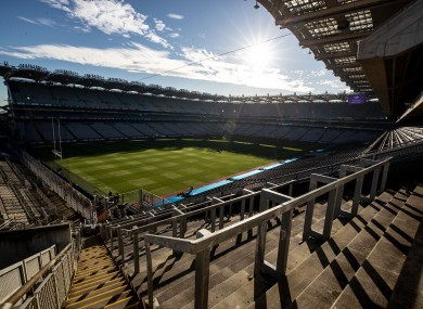 Croke Park will host the event in the coming month.