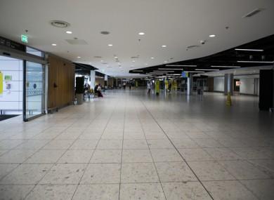 An empty Dublin Airport (file photo)