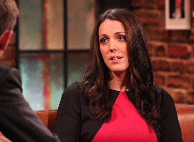 Hazel Behan's 2015 appearance on The Late Late Show.