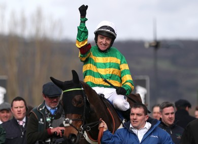File photo of Barry Geraghty.