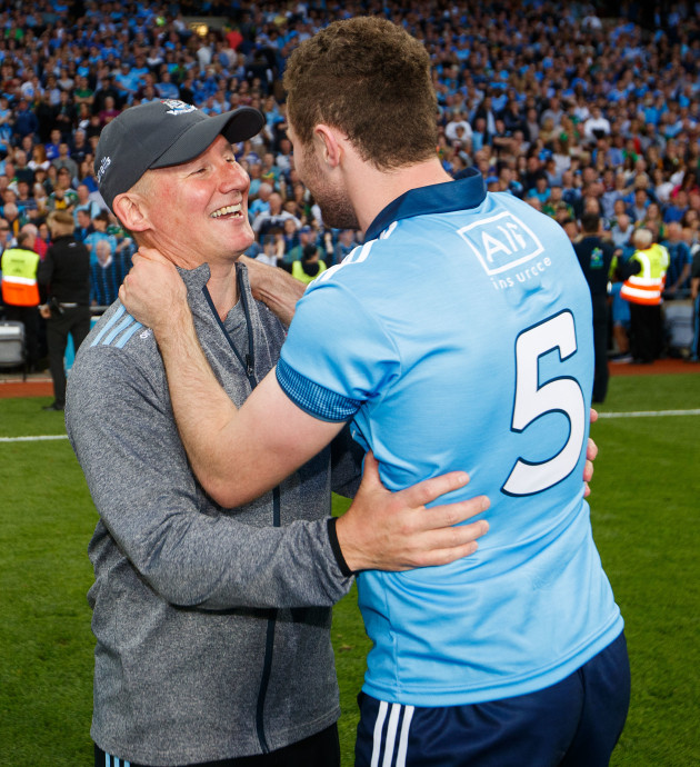'It's not a manager's role to talk a player in or out of anything' – Jim Gavin on McCaffrey's Dublin exit